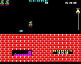 Hunchback BBC Micro Level one.