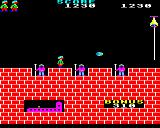 Hunchback BBC Micro Level five. Sentries who poke their spears up at you and another missile to avoid.