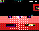Hunchback BBC Micro The final level completed and Esmeralda has been rescued.