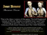 Inner Demons DOS Shareware information