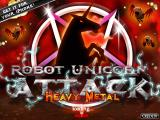 Robot Unicorn Attack Heavy Metal Browser Brand new logo.