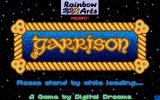 Garrison Amiga Title screen