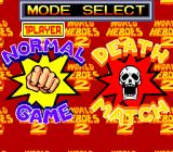 World Heroes 2 TurboGrafx CD Normal or deathmatch?..