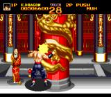 World Heroes 2 TurboGrafx CD Bonus mode. I  have to break this pillar...