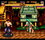 World Heroes 2 TurboGrafx CD Some fighters are truly weird...