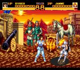 World Heroes 2 TurboGrafx CD Fighting Jeanne d'Arc in medieval France!..