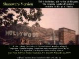 The Hollywood Murders DOS Shareware ordering information