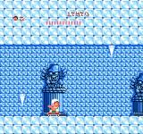Adventure Island NES In the ice cave