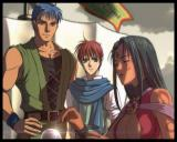 Ys: The Oath in Felghana Windows From the intro: Adol and Dogi sees a fortuneteller