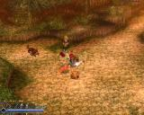 Ys: The Oath in Felghana Windows Adol saves a girl in trouble