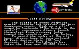 World Games Amiga Cliff Diving description