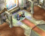 Ys: The Oath in Felghana Windows Sister Nell and bishop Nicholas in the town church