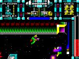 Dan Dare III: The Escape ZX Spectrum There he is, a purple jumpy thing that pops up, shoots, and falls back down