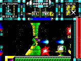 Dan Dare III: The Escape ZX Spectrum Just shooting it does no good. It must me shot i the head to destroy it
