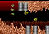 Zero Wing TurboGrafx CD Those funny green guys appear suddenly and attack very fast