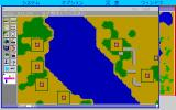 SimCity PC-98 Zooming in the edit mode