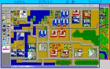 SimCity PC-98 Hamburg, 1944. Bombs are falling!..