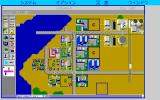 SimCity PC-98 Underdeveloped city. Needs some more work...