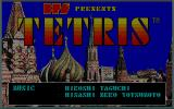 Tetris PC-98 Title screen
