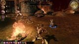 Dragon Age: Origins -  The Darkspawn Chronicles Windows Fighting together with an Ogre