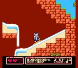Tiny Toon Adventures 2: Trouble in Wackyland NES Don't fall off the log!
