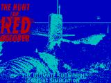 The Hunt for Red October ZX Spectrum Loader/Title