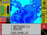 The Hunt for Red October ZX Spectrum Keyboard selection