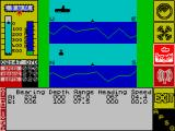 The Hunt for Red October ZX Spectrum Cross-sectional analysis view