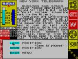The Hunt for Red October ZX Spectrum Failed to evade the torpedo