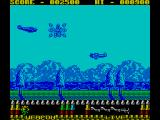 P47 Thunderbolt ZX Spectrum Destroyed chopper for power-up
