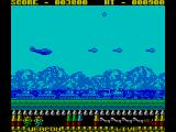 P47 Thunderbolt ZX Spectrum Dropping bomb on train below