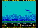 P47 Thunderbolt ZX Spectrum Speeding up to bomb another train