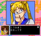 Bishōjo Senshi Sailor Moon TurboGrafx CD Usagi is teasing Makoto