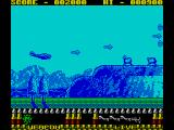 P47 Thunderbolt ZX Spectrum Here's a load of anti aircraft guns on a hill....
