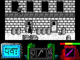 Vendetta ZX Spectrum One screen to the right : overhead snipers appear. One hit from these guys is fatal