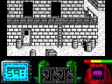 Vendetta ZX Spectrum two screens to the right : snipers appear up there too but at least I can get to them now