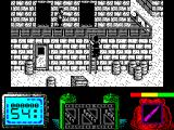Vendetta ZX Spectrum Climbing is nicely animated