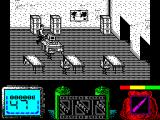 Vendetta ZX Spectrum Ah! a world map - that, and the guns, proves they're global terrorists