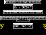 War Machine ZX Spectrum Main menu