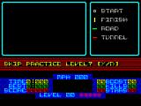 S.T.U.N. Runner ZX Spectrum Level 1 is the practice level. If skipped the game goes straight to level 2