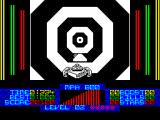 S.T.U.N. Runner ZX Spectrum Dead ahead is a pad, these boost speed from 800 mph to 900 mph