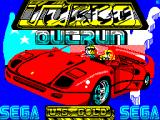 Turbo Out Run ZX Spectrum Title/loader