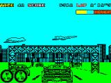 Turbo Out Run ZX Spectrum Catching other cars