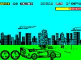 Turbo Out Run ZX Spectrum Spin-out