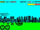 Turbo Out Run ZX Spectrum Flipped the car