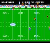 Tecmo Super Bowl NES Looking for the ball...