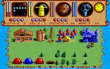 Traders: The Intergalactic Trading Game DOS The shops. Buy rockets and oil, speculate with sapphires or play the lottery.
