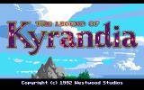 The Legend of Kyrandia PC-98 Logo in 16 color mode.