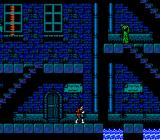 Castlevania II: Simon's Quest NES A town at night: pretty scary