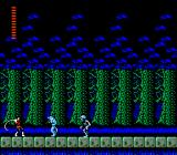 Castlevania II: Simon's Quest NES Blue bears and skeletons attacking